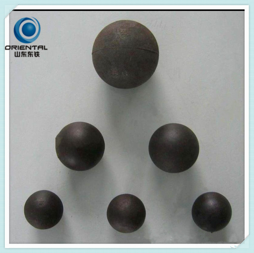 Low chromium cast steel ball
